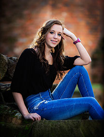 Sipsey Valley High School senior pictures, female senior portrait by a Tuscaloosa photographer