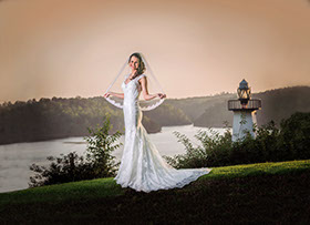 Tuscaloosa, Wedding Photography. Bridal Portrait  Photography at North River Yacth Club.