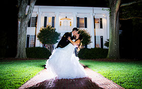 Wedding Photography at The University Club in Tuscaloosa, Alabama.